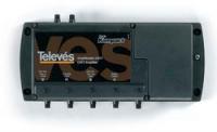Усилитель Televes 5384 HP Kompact (5вх.-1вых. FM-I/III-ДМВ-IV-V)