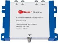 SAT-Перекл. GD-4101A DISEQC 1.1,  4х1, Excellent quality