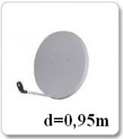 Антенна спутниковая 0,95м (Харьков)