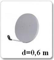 Антенна спутниковая 0,6м (Харьков)
